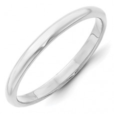 14KW 2.5mm Half Round Band Size 10