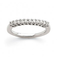 SS 5mm Polished Fancy Band Size 7