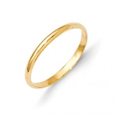 14k Madi K Polished Baby Ring