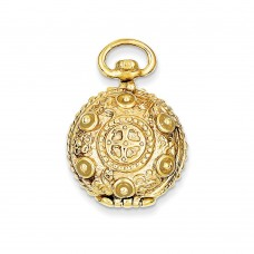 14k Fancy Domed Locket