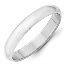 10KW 4mm Half Round Band Size 7