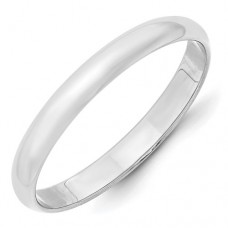 10KW 3mm LTW Half Round Band Size 7